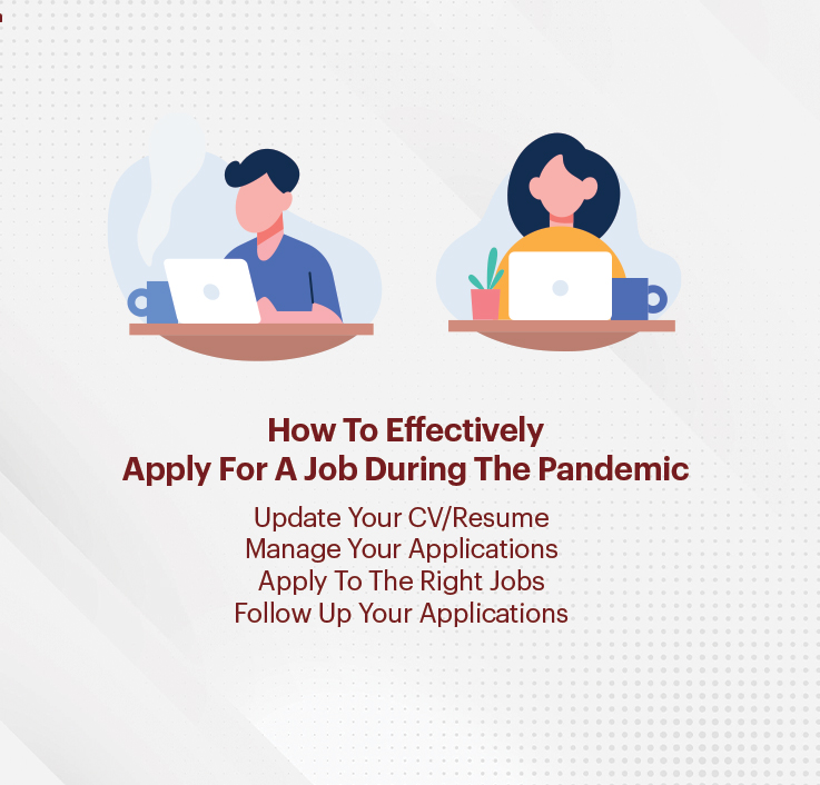 How to effectively apply for a job during the pandemic